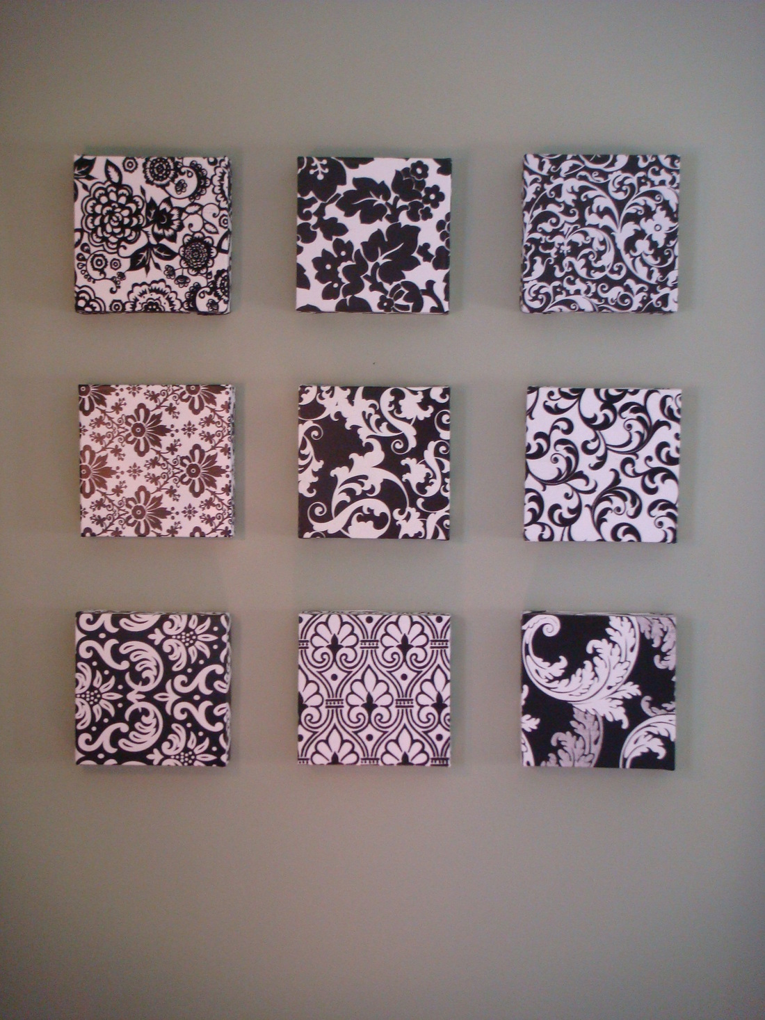 Cool Diy Wall Art Ideas : More cheap and easy wall art sew classy designs